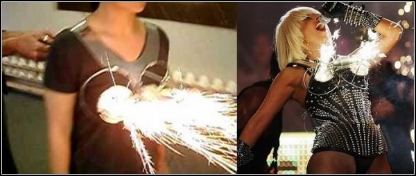 Обзор самого женского оружия: лифчик-огнемёт