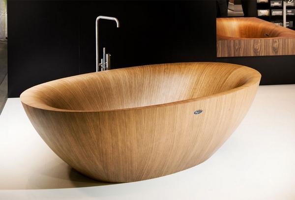 Деревянные ванны от Alegna