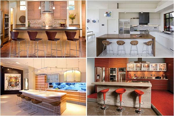 ТОП-10 барных стульев для современной кухни