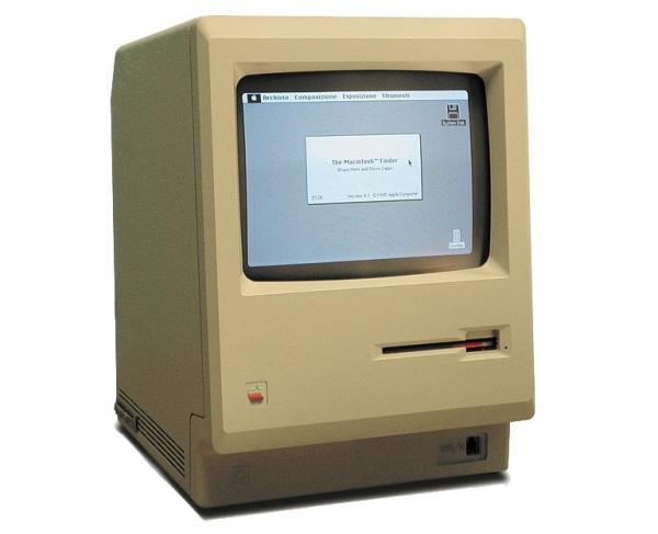 Первый компьютер легендарной линейки Macintosh 128K
