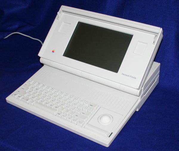 Неудавшийся ноутбук Macintosh Portable