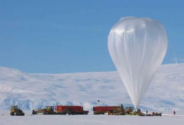 Гигантский воздушный шар NASA