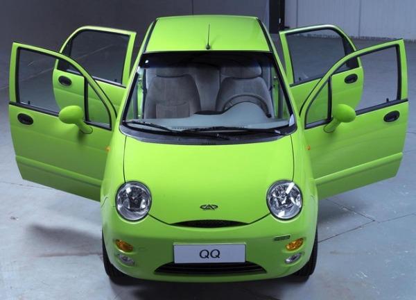 Chery QQ - 160 тысяч рублей