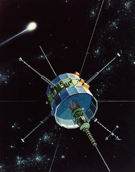 Иллюстрация International Cometary Explorer