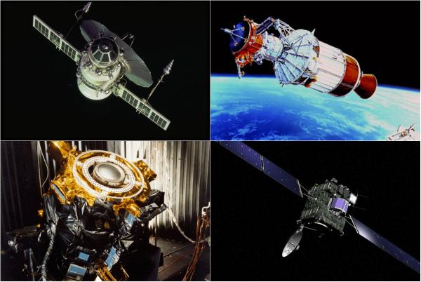 Обзор космических аппаратов для изучения комет