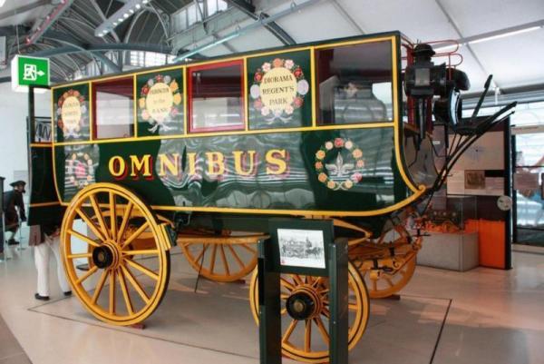 Омнибус в Лондонском музее транспорта