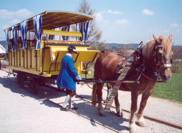 Конная железная дорога в австралийском музее