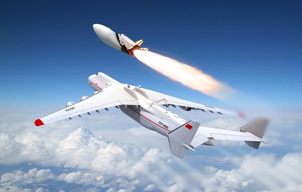 МАКС на самолете-носителе Ан-225