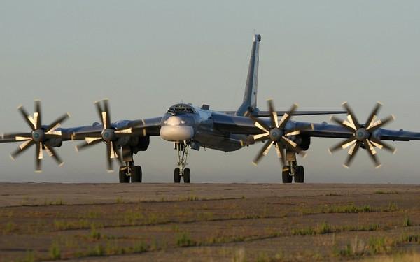 Межконтинентальный бомбардировщик Ту-95 Фото: baomoi.com