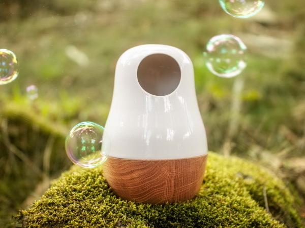 Babula: светильник в форме матрешки.