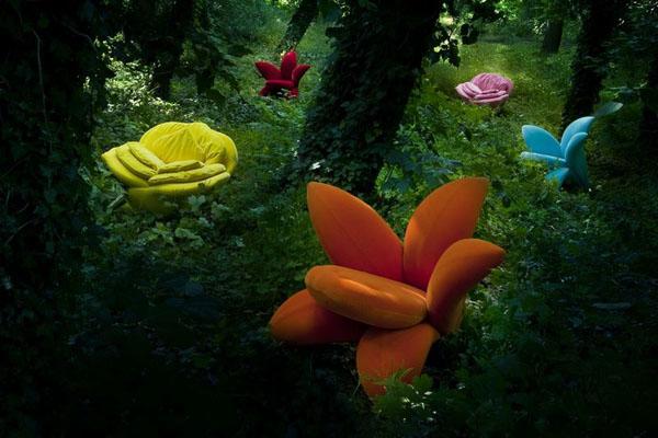 Мебель для Дюймовочек: ТОП-10 «цветочных» кресел