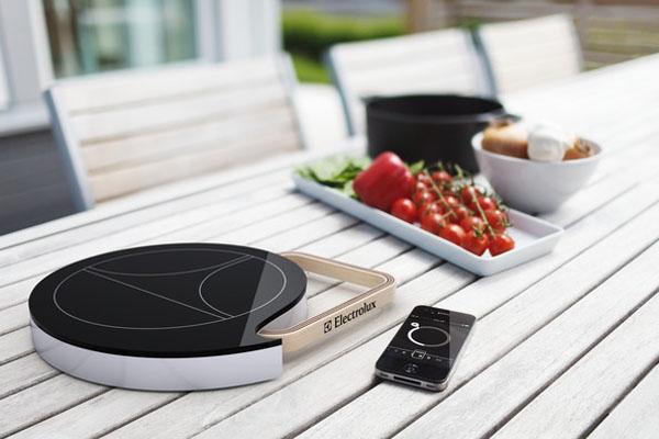 Мобильная индукционная плита от Electrolux