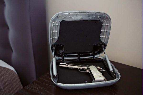 Сейф Gun Box для хранения пистолета