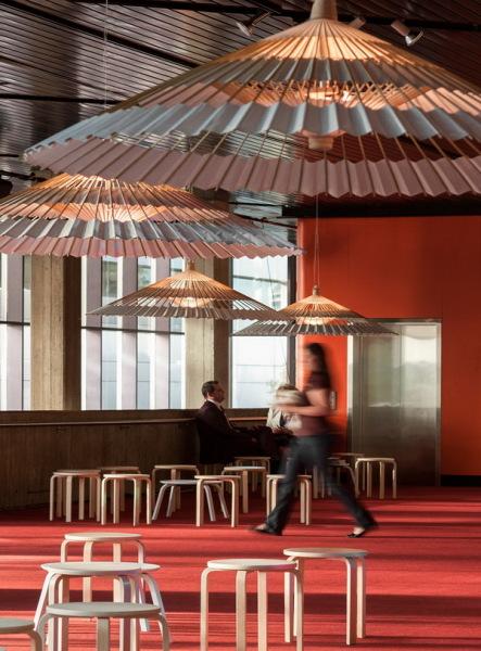 Лампа в форме зонта Higasa Lamp