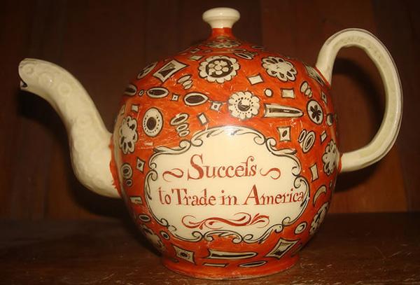 Веджвудский заварочный чайник