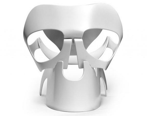 Оригинальный стул в форме черепа Skull Chair