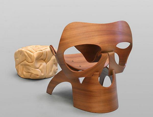 Стул Skull Chair