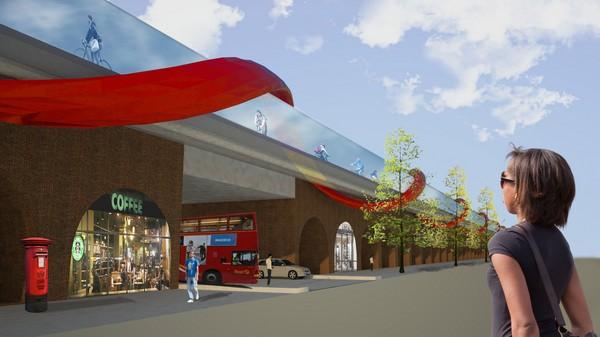 SkyCycle от Нормана Фостера: велоэстакады через весь Лондон