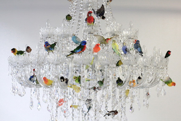 Люстра XL bird chandelier с птицами