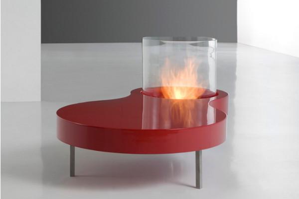 Огненный журнальный столик Planika