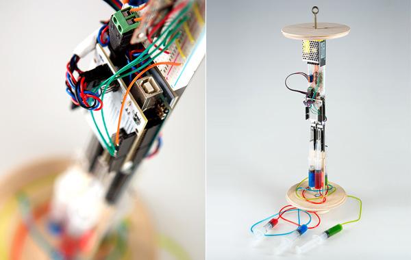 Интерактивный светильник на основе Arduino Uno.