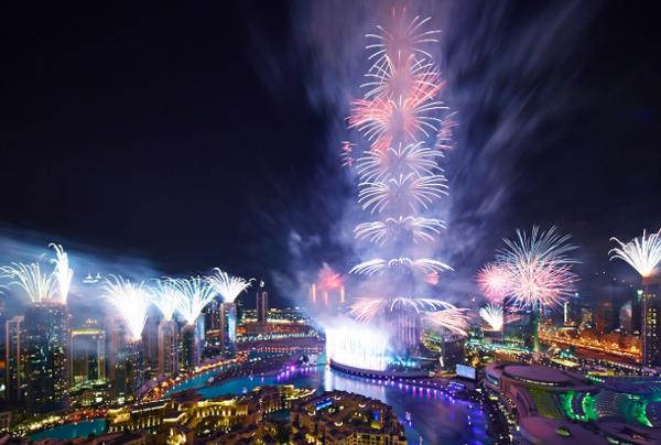 Новый мировой рекорд среди новогодних фейерверков
