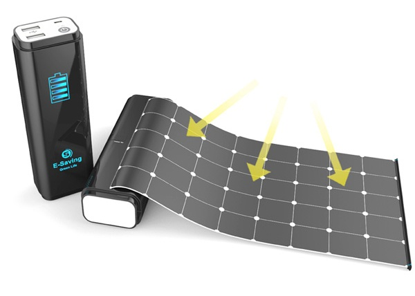 Концепт компактного зарядного устройства E-Saving