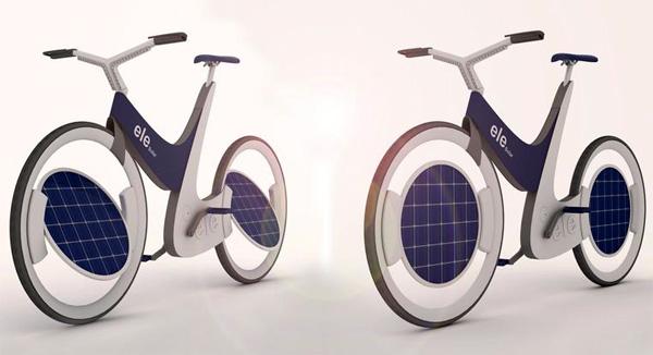 Концепт велосипеда-«подсолнуха» Ele