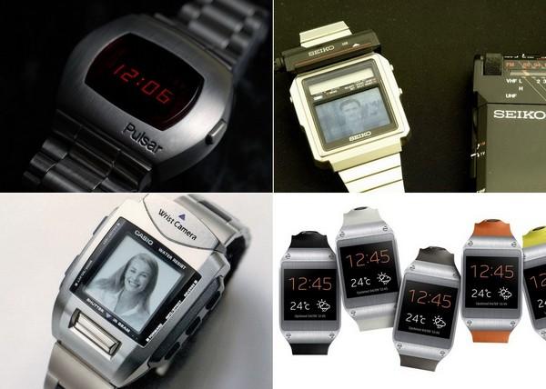 История электронных наручных часов
