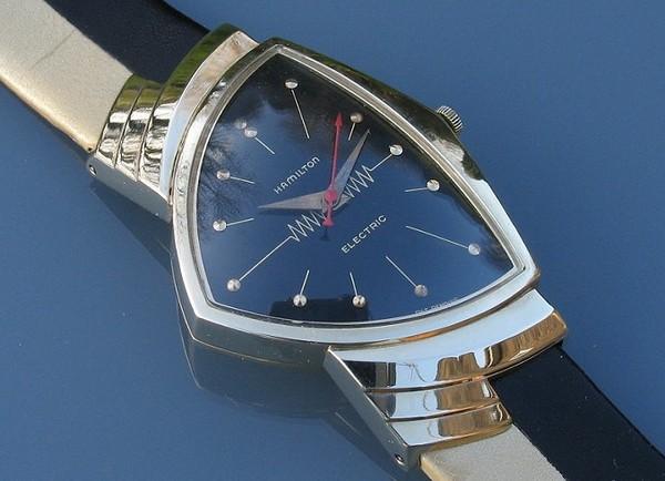 Hamilton Electric 500: первые электрические часы