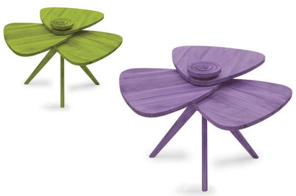 Разноцветный стол Лепесток для любого интерьера