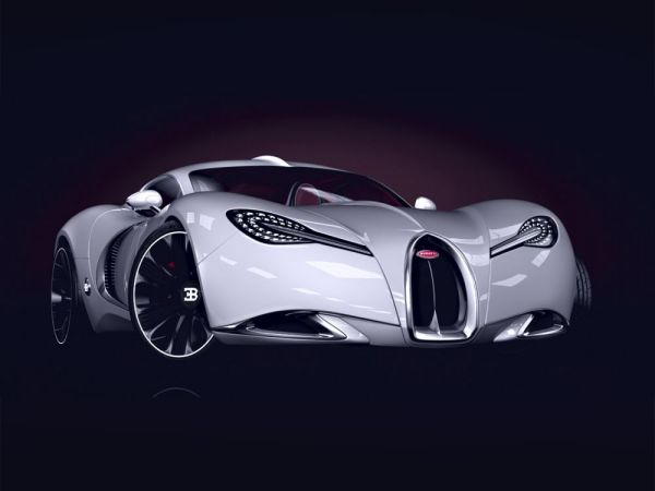 Элегантный концепт Bugatti Gangloff