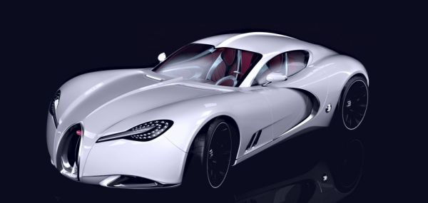 Концепт Bugatti Gangloff
