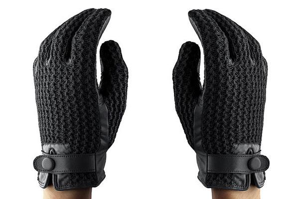 Элегантные зимние перчатки для работы с сенсорными экранами.