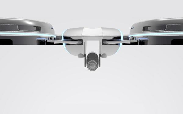 Концепт камеры-дрона The Great Observer