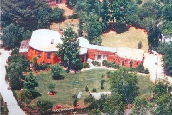 Дом в виде гитары (Джорджия, США)