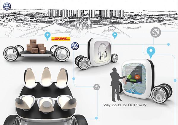 Автомобиль-трансформер Here способен выполнять самые разные задачи