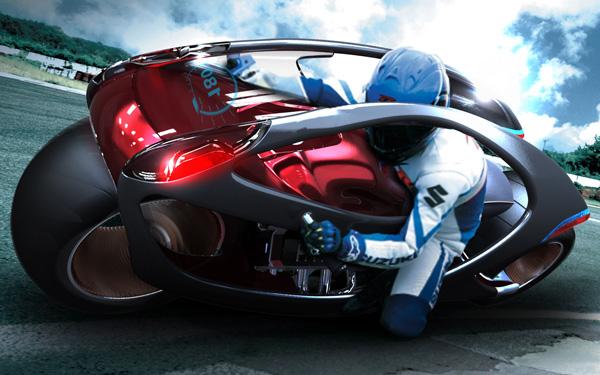 «Мускулистый» мотоцикл Hyundai