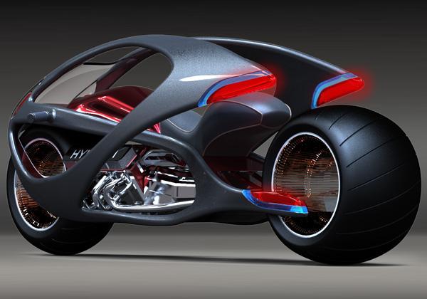 Концепт футуристичного мотоцикла Hyundai