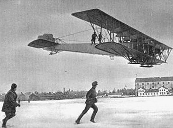 Илья Муромец в воздухе. Фото: firetrench.com