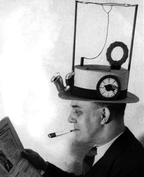 Радио на шляпе