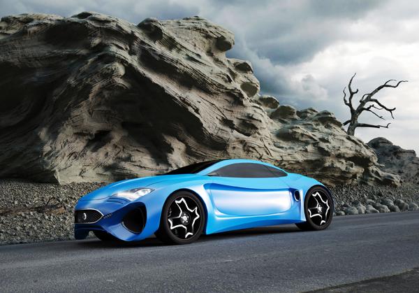 Концепт спорткара Jaguar XKX