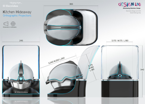 Дизайн шлема Kitchen Hideaway