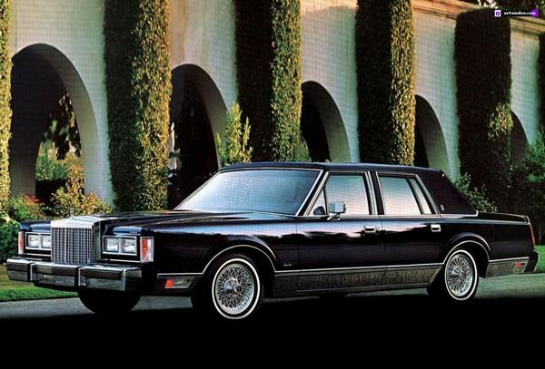 Lincoln Town Car – новый флагман. Источник фото: Avtoindex