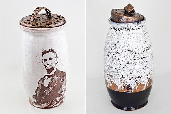 Коллекция посуды с Авраамом Линкольном