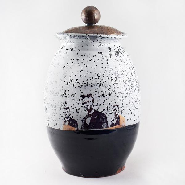 Авраам Линкольн на посуде