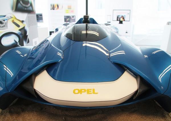 Парусный автомобиль Opel Icona. Источник фото: Behance