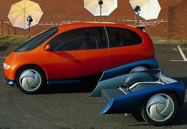 Opel Twin – практически гибридный автомобиль. Источник фото: Autokult