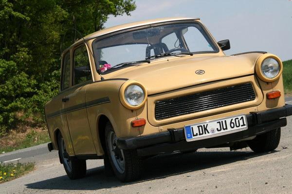 Trabant. Самый популярный в мире автомобиль из пластика