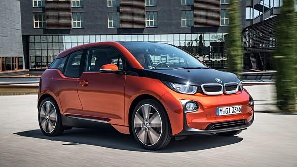 BMW i3. Пластиковый электромобиль